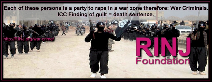 Death Sentence For Parties To Rape In Conflict