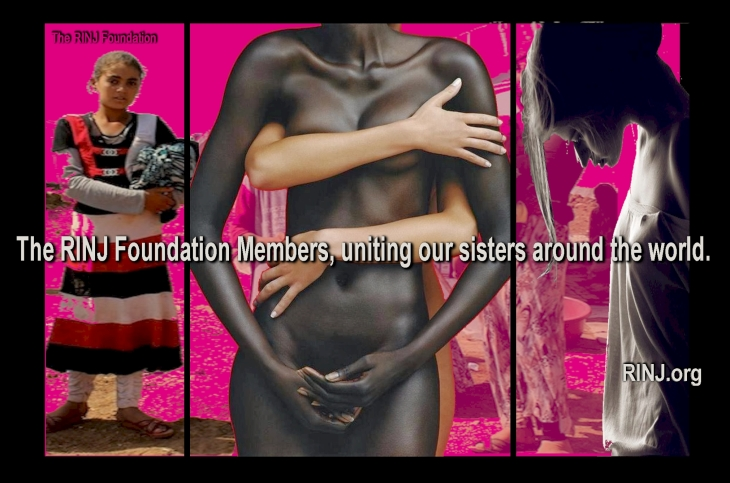 The RINJ Foundation Members, uniting our sisters around the world.